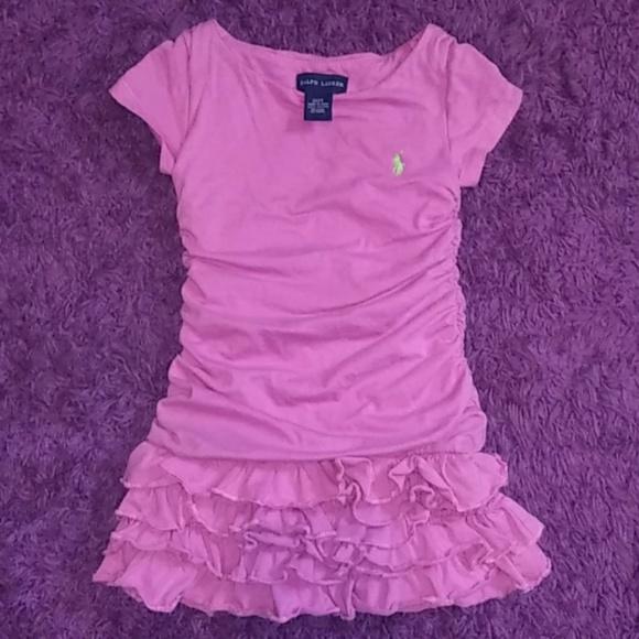 Ralph Lauren Other - NWOT Ralph Lauren pink toddler dress size 2T